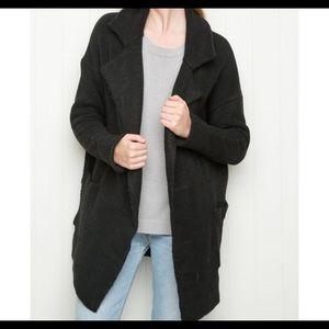 Brandy Melville Black Kennedy Coat